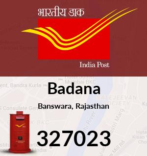 Badana Pincode - 327023
