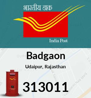 Badgaon Pincode - 313011