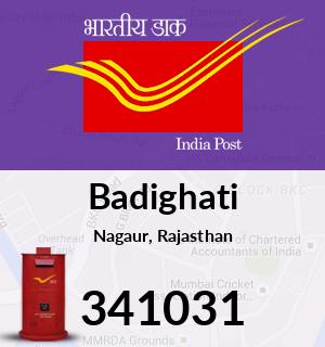 Badighati Pincode - 341031