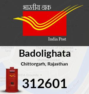 Badolighata Pincode - 312601