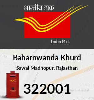 Baharnwanda Khurd Pincode - 322001