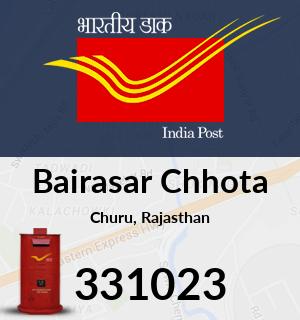 Bairasar Chhota Pincode - 331023
