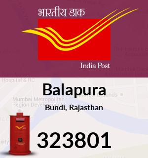 Balapura Pincode - 323801