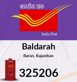 Baldarah Pincode - 325206