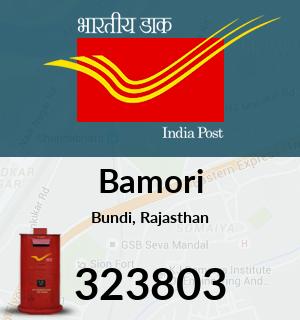 Bamori Pincode - 323803