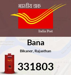 Bana Pincode - 331803