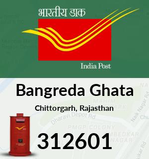 Bangreda Ghata Pincode - 312601
