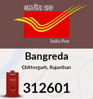Bangreda Pincode - 312601