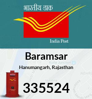 Baramsar Pincode - 335524