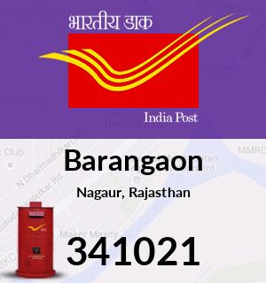 Barangaon Pincode - 341021