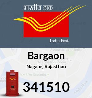 Bargaon Pincode - 341510