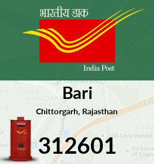 Bari Pincode - 312601