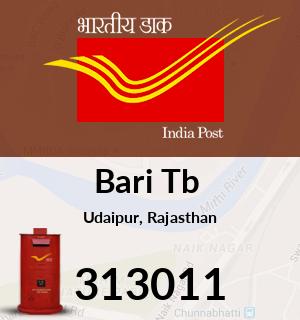Bari Tb  Pincode - 313011