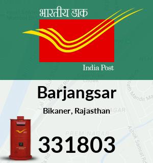 Barjangsar Pincode - 331803