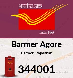 Barmer Agore Pincode - 344001