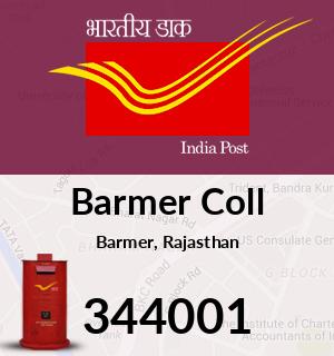 Barmer Coll Pincode - 344001