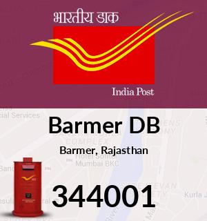 Barmer DB Pincode - 344001