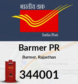Barmer PR Pincode - 344001
