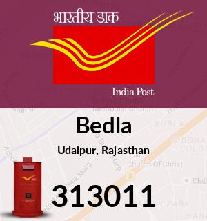 Bedla Pincode - 313011