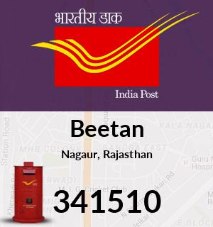 Beetan Pincode - 341510