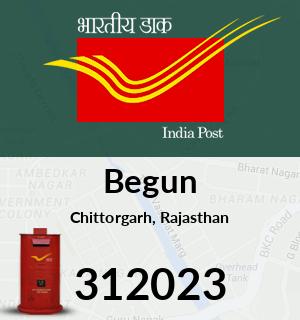 Begun Pincode - 312023