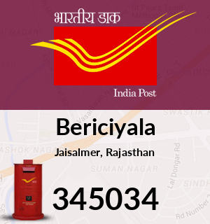 Bericiyala Pincode - 345034