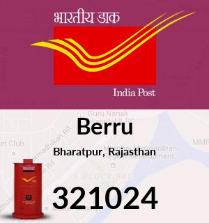 Berru Pincode - 321024