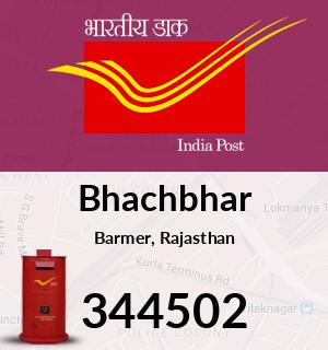 Bhachbhar Pincode - 344502