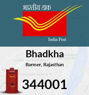 Bhadkha Pincode - 344001