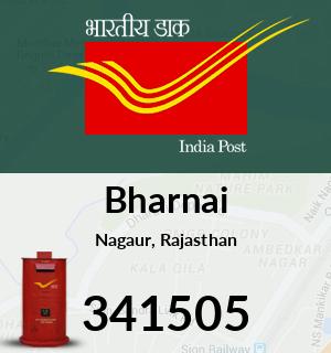 Bharnai Pincode - 341505