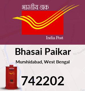 Bhasai Paikar Pincode - 742202