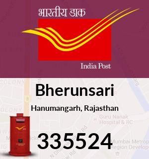 Bherunsari Pincode - 335524