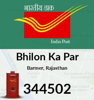 Bhilon Ka Par Pincode - 344502