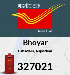 Bhoyar Pincode - 327021