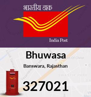 Bhuwasa Pincode - 327021