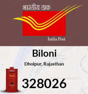 Biloni Pincode - 328026
