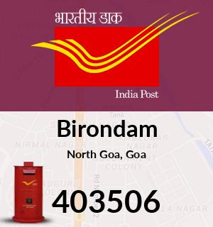 Birondam Pincode - 403506