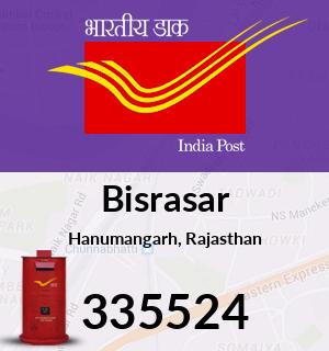 Bisrasar Pincode - 335524