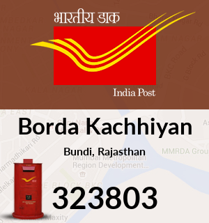 Borda Kachhiyan Pincode - 323803