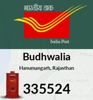 Budhwalia Pincode - 335524