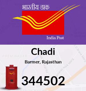 Chadi Pincode - 344502