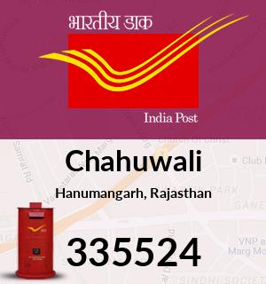 Chahuwali Pincode - 335524