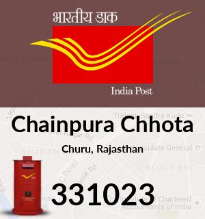 Chainpura Chhota Pincode - 331023
