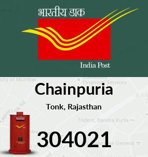 Chainpuria Pincode - 304021