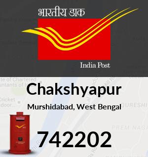 Chakshyapur Pincode - 742202
