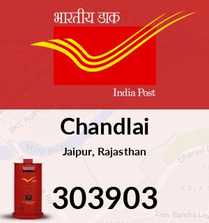 Chandlai Pincode - 303903