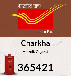 Charkha Pin Code, Amreli, Gujarat