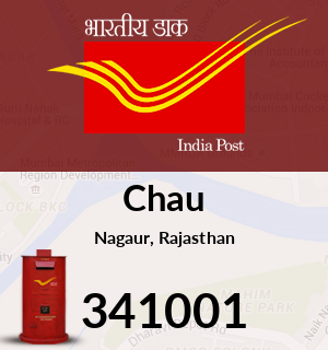 Chau Pincode - 341001