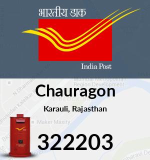 Chauragon Pincode - 322203