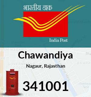 Chawandiya Pincode - 341001